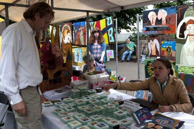 Kunstmarkt 5 september Baarn